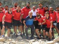Yüksekova belediyespor Nevşehir'de kampa girdi!