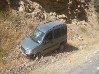 Hakkari'de Trafik kazası 1 ölü, 4 yaralı