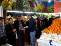 Halk pazarı hizmete açıldı