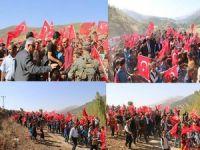 Şemdinli'de 'kohrolsun PKK' sloganları!