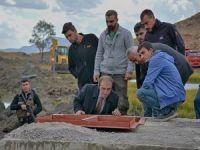 Başkan Epcim 3 Bin Rakımda içme suyu çalışmalarını inceledi