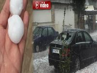 Mersin'de dolu ve sağanak yağış etkili oldu