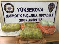 Hakkari il genelinde 30 kilo 036 gram esrar ele geçirildi