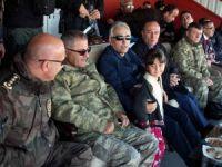 Vali Toprak Yüksekova belediyespor maçınıizledi