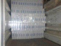 3 bin 860 paket sigara ele geçirildi