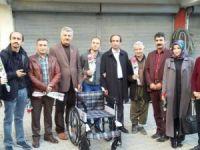 Hakkari AK Parti'den engellilere destek