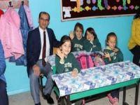 Kaymakam Ayca'nın okul ziyaretleri sürüyor