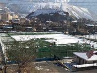 Sporcular valilikten kar küreme makinesi talep etti