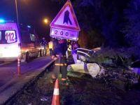Feci kaza: 1 ölü, 2 yaralı!