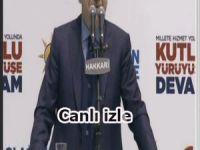 Erdoğan Hakkari'de canlı