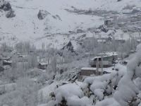 Hakkari'de 11 köy, 24 mezra ulaşıma kapandı