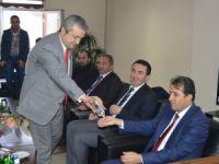 Ak Parti İl Başkanı Tekin'den HATSO'ya ziyaret