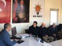 BaşkanTekin Çukurca'da ziyaretlerde bulundu!