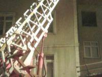 7 katlı binada çıkan yangın söndürüldü!