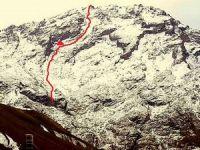 18,5 saatte zorlu kış tırmanışı