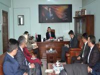 Daire Başkanı Öz Hakkari'de toplantı yaptı