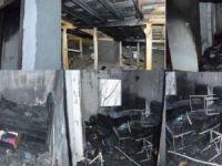 ASP'den evleri yanan Taş ailesine yardım eli