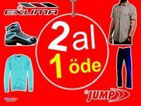 Exuma Spor Giyim Mağazasında 2 al, 1 öde