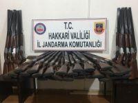Esendere'de 50 adet av tüfeği ele geçirildi