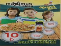 Maximus Pizza'dan süper indirim