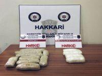 Hakkari il genelinde Uyuşturucu operasyonu