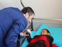 Başkan Gür: Çukurca'yı ziyaret etti
