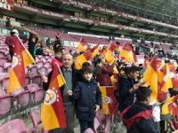 Hakkarili öğrenciler Galatasaray, Konyaspor maçını izledi