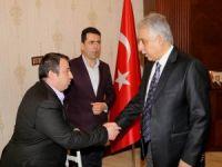 Başkan Keskin ve Ertuş'tan Vali Toprak'a ziyaret!