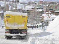 Hakkari'de 3 köy, 8 mezra yolu ulaşıma kapandı