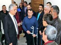 Vali Toprak engelli koordinasyon merkezini ziyaret etti
