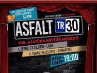 """Hakkari'de """"Asfalt30"""" tiyatro heyecanı"""