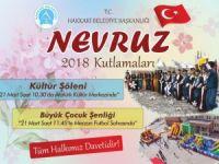 Hakkari belediyesinde 2018 Nevruz kutlaması
