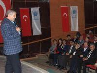 Prof. Dr Maranki Hakkari'ne konferans verdi