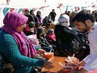 HAKAPAD bin kişiye çorba ikramında bulundu