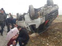 Trafik kazası 1 ağır 2 yaralı
