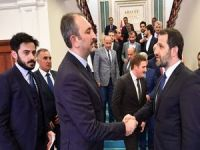 Ak Parti heyeti Ankara'dan ziyaretlerde bulundu