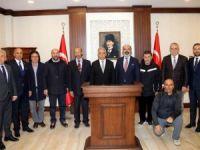 Başkanı Yarar'dan Vali Toprak'a ziyaret