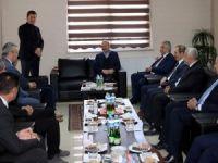 Başkan Taş, Bakan Soylu'dan demiryolu istedi