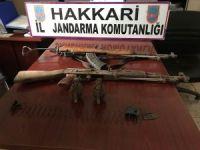 PKK'ya ait silah ve mühimmat ele geçirildi