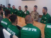 Hakkari  Zapspor kaynaşma yemeği düzenledi