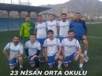 Öğretmenler arası futbol turnuvası başladı