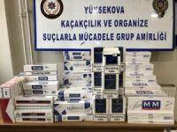 727 paket sigara, 3772 kilo nargile tütünü ele geçirildi!