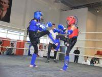 Hakkari'de Muay Thai il şampiyonası düzenlendi