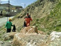 Hakkari'de çevre temizliği başlatıldı
