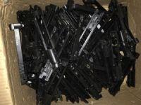 219 adet tabanca üst kapağı ele geçirildi