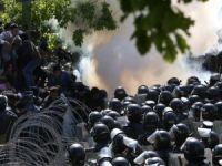 Ermenistan'da protestolar yeniden başladı