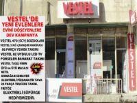 Vestel'de yeni evlenenlere, evini döşeyenlere dev Kampanya