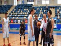 Belediye basketbol turnuvası başladı