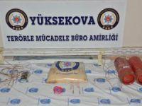 Yüksekova ve Şemdinli'de EYP ele geçirildi