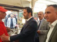 Başkan Gür yöresel ürünler fuarını ziyaret etti